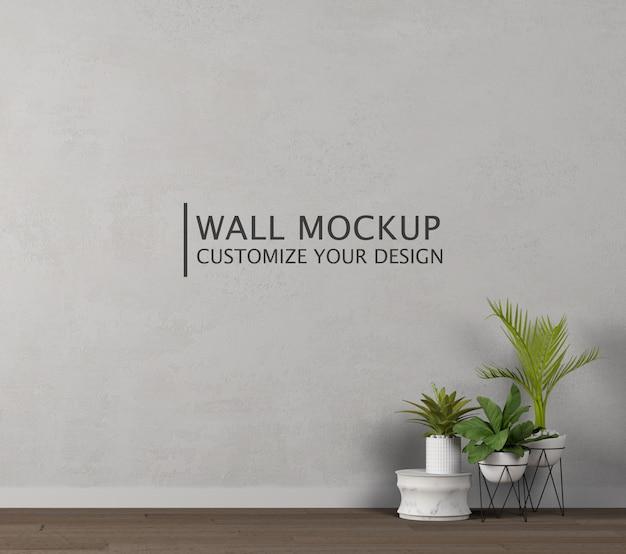 Personalizzazione del design della parete Psd Premium