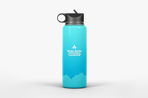 Mockup di bottiglia d'acqua isolato Psd Premium