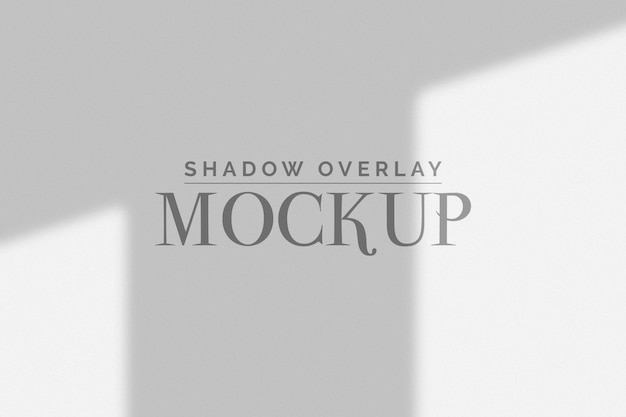 Mockup di finestra organica ombra Psd Premium