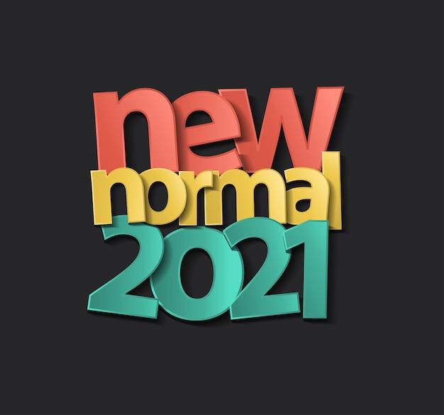 2021 copertina del calendario del nuovo anno, nuova ispirazione di