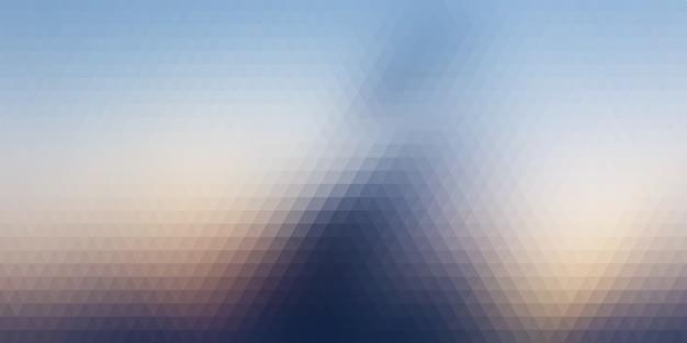 Sfondo astratto con motivo triangolare Vettore Premium