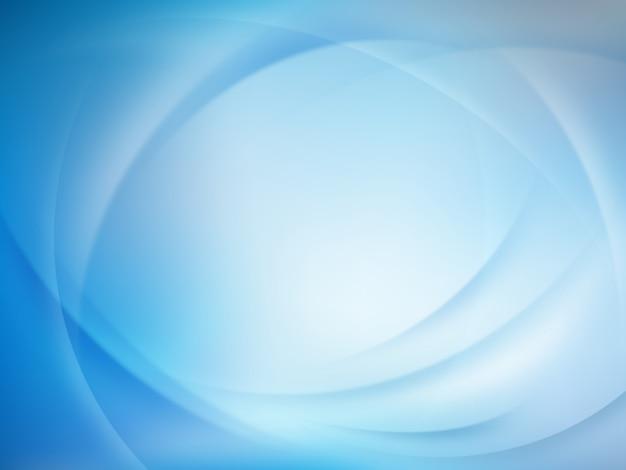 Astratto sfondo sfocato blu. Vettore Premium