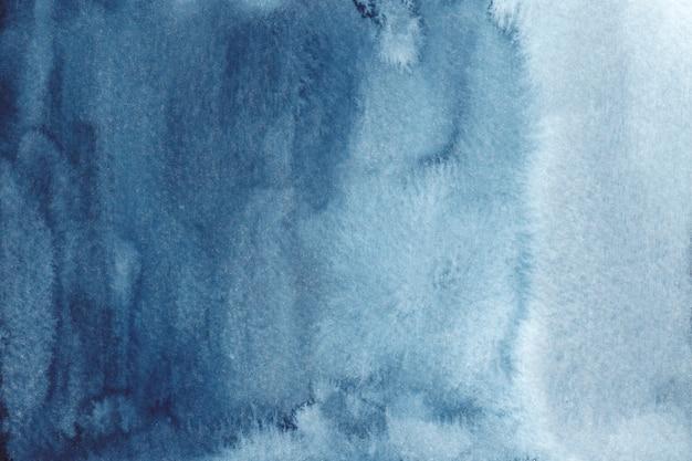 Acquerello astratto blu trama acquerello disegnato a mano Vettore Premium