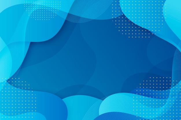 Astratto sfondo blu classico Vettore Premium