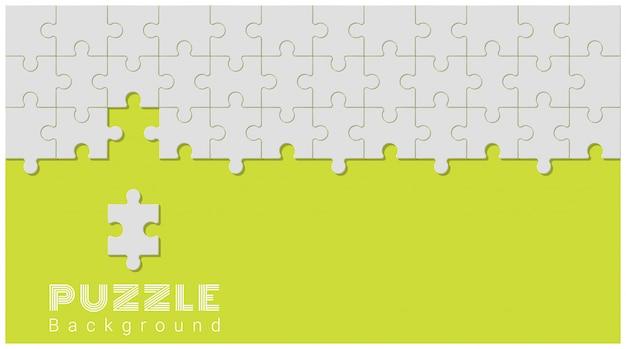 Priorità bassa concettuale astratta con il puzzle incompleto Vettore Premium