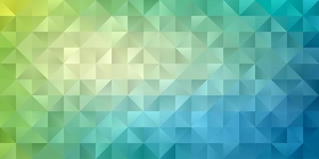 Carta da parati geometrica astratta del fondo del poligono. motivo a polly basso a forma di triangolo Vettore Premium