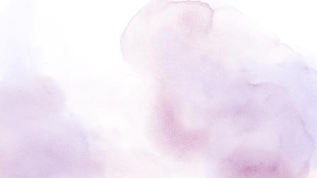 Acquerello viola misto rosa chiaro astratto per sfondo. Vettore Premium