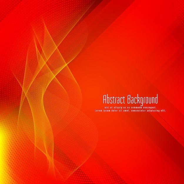 Astratto sfondo rosso geometrico elegante moderno Vettore Premium