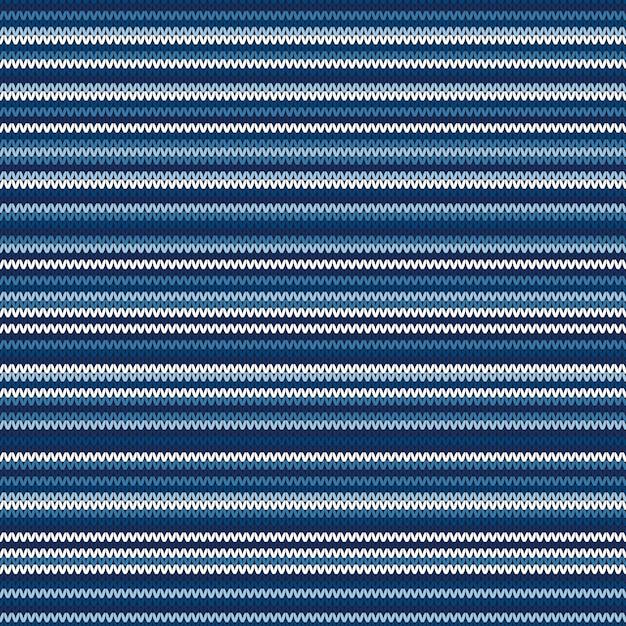 Reticolo lavorato a maglia a strisce astratto Vettore Premium