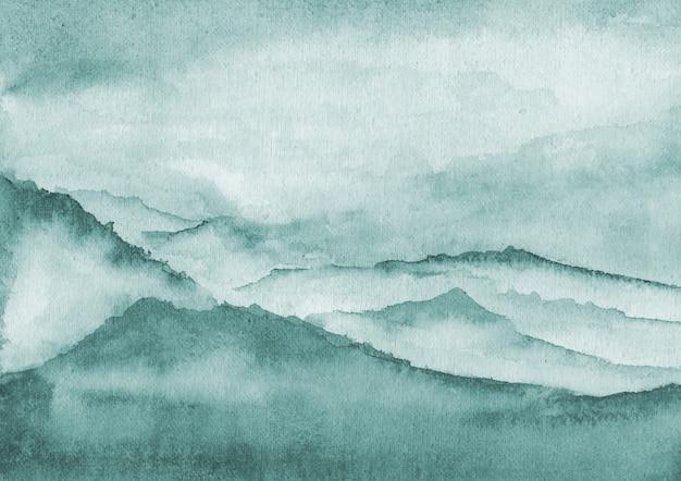 Disegno astratto sfondo acquerello Vettore Premium