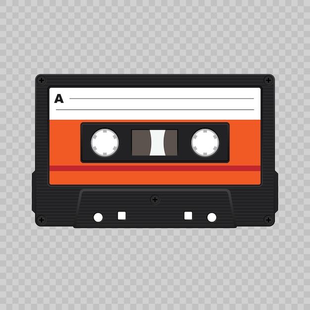 Cassetta audio Vettore Premium