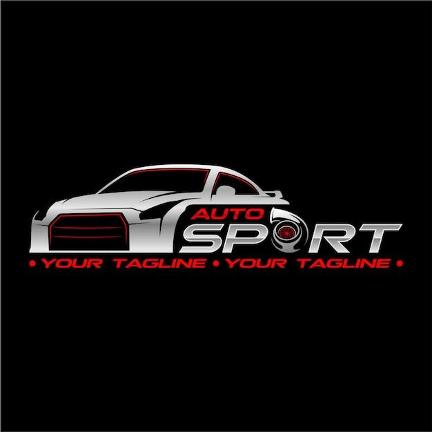 Auto sport Vettore Premium