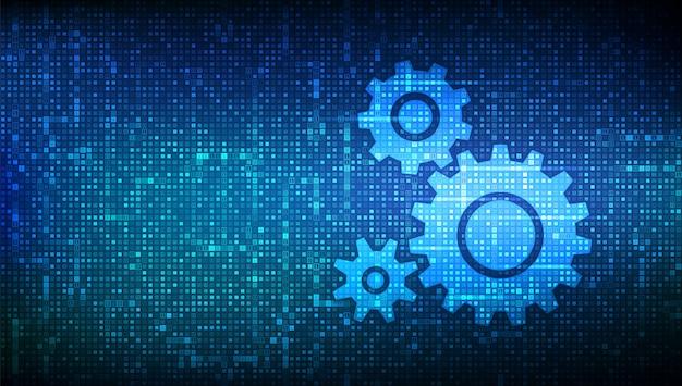 immagine del software binario