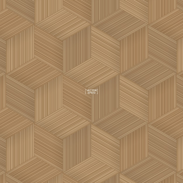 Illustrazione del modello di vimini di bambù Vettore Premium