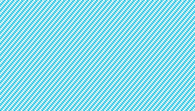Carta da parati bavarese. modello senza cuciture per tessuto tradizionale oktoberfest, tovaglie e abiti dirndl. diamanti diagonali blu e bianchi. motivo a losanga a scacchi. Vettore Premium
