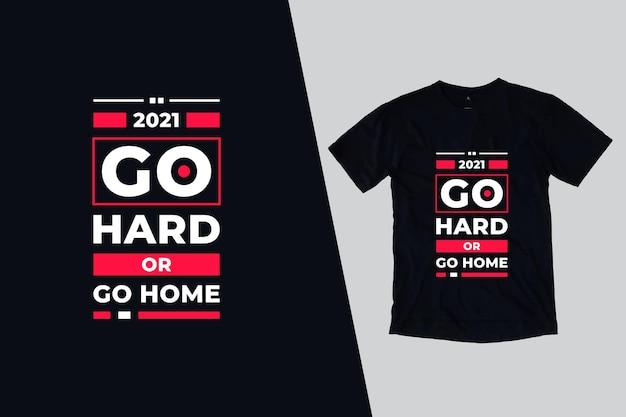 Bella moderna citazioni t shirt design Vettore Premium