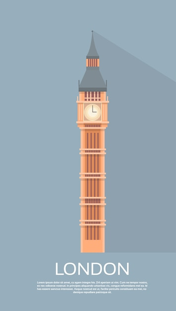 Big ban london clock tower Vettore Premium