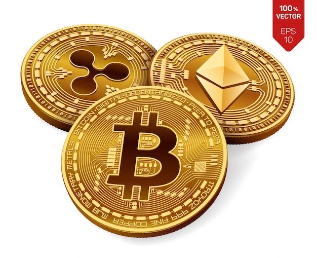 Ondulazione di investimento in criptovaluta trading