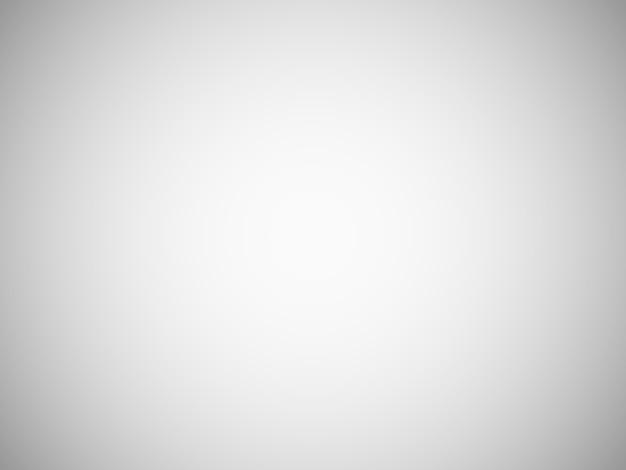Sfondo sfocato grigio chiaro vuoto con sfumatura radiale Vettore Premium