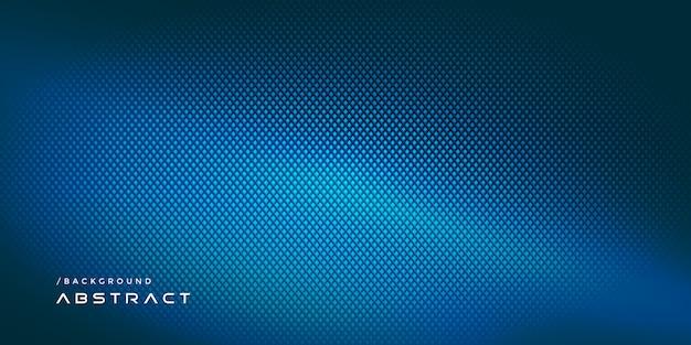 Fondo moderno di tecnologia del carbonio astratto blu Vettore Premium