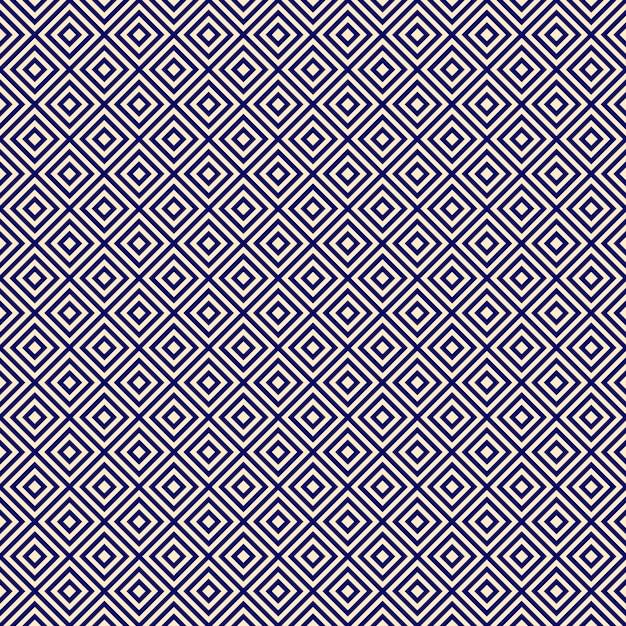 Sfondo blu infinito diagonale est Vettore Premium