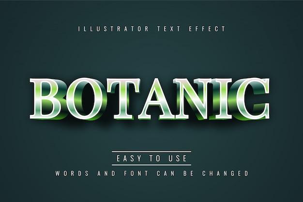 Effetto tetto botanico Vettore Premium
