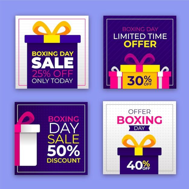 Post di instagram di vendita di eventi di santo stefano Vettore Premium