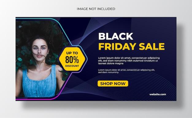 Modello di banner web conferenza d'affari Vettore Premium