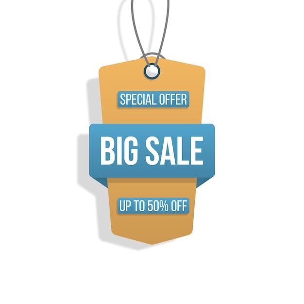 Raccolta di tag grandi etichette di acquisto di vendita su bianco Vettore Premium