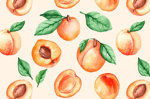 Modello di frutti colorati Vettore Premium