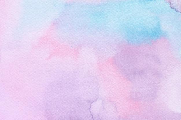 Sfondo colorato unicorno acquerello. sfondo arcobaleno Vettore Premium