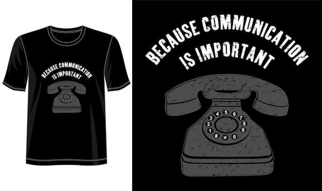 Design della comunicazione per magliette stampate e altro ancora Vettore Premium