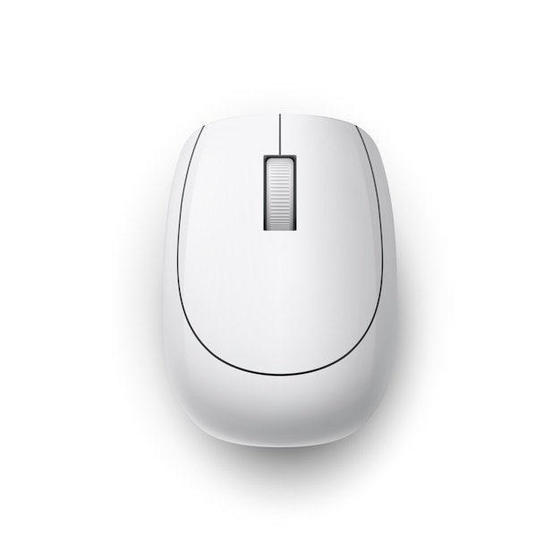 Mouse del computer Vettore Premium