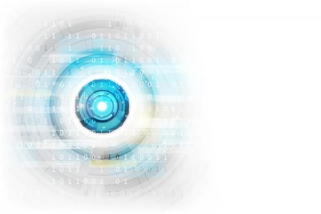 Celle connesse con sfondo di collegamenti Vettore Premium