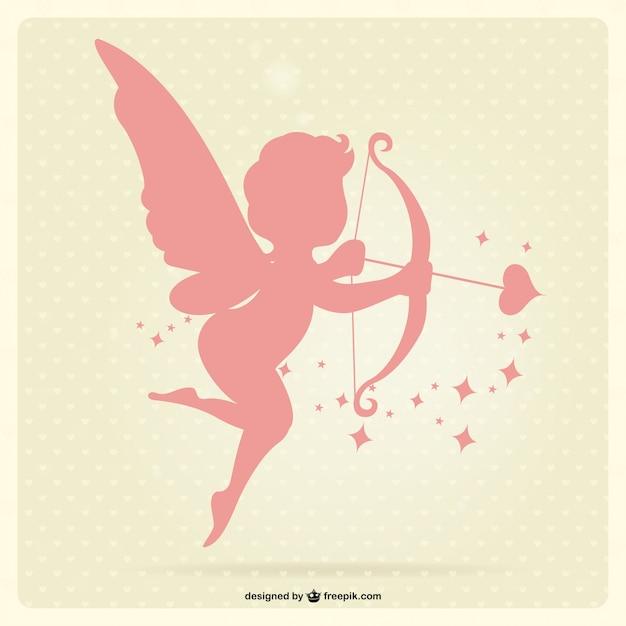 Cupido vettore Vettore Premium
