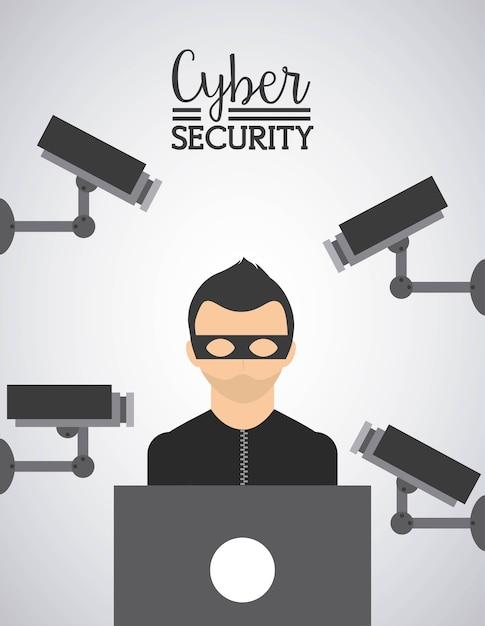 Sicurezza informatica Vettore Premium