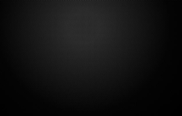 Disegno di sfondo griglia geometrica nero scuro Vettore Premium