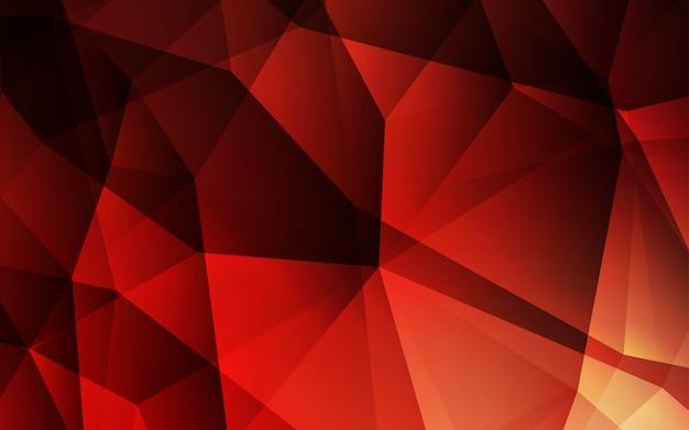 Vettore rosso scuro brillante layout triangolare. Vettore Premium