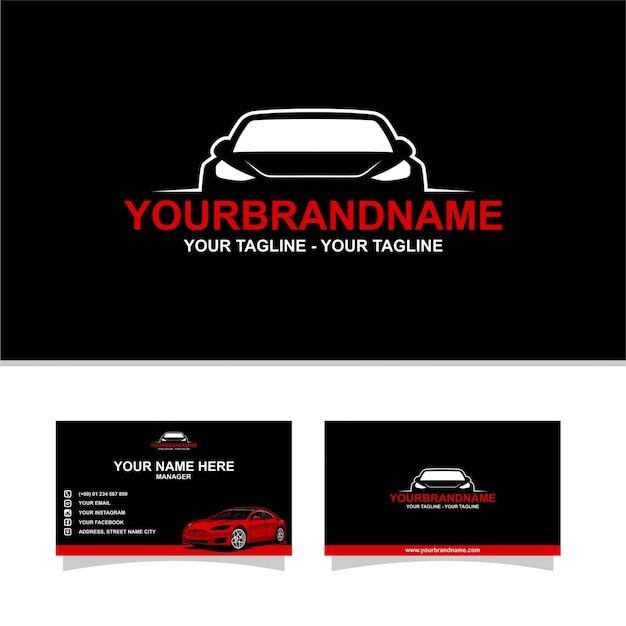 Logo auto concessionario Vettore Premium