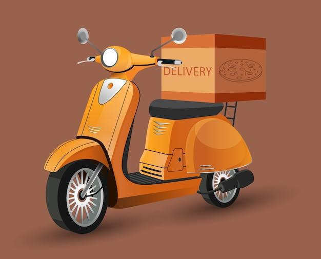 Consegna scooter Vettore Premium