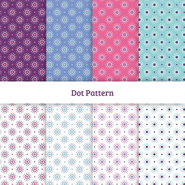 Dot pattern Vettore Premium