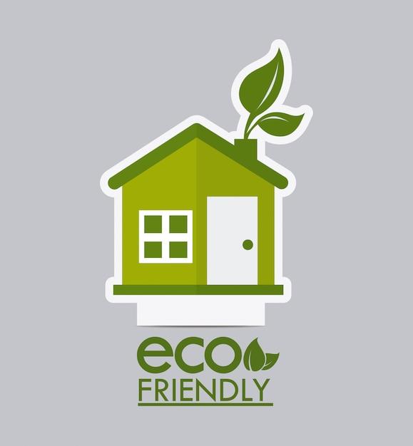 Progettazione dell'ecologia Vettore Premium