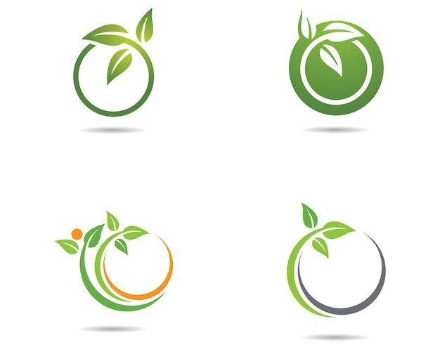 Icona di vettore di ecologia Vettore Premium