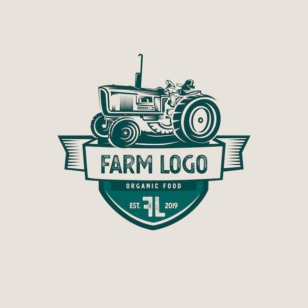 Logo dell'azienda agricola Vettore Premium