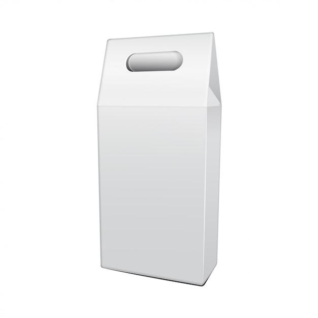 Confezione pieghevole per modello di bottiglia di vite. illustrazione della scatola del mestiere del regalo per, fondo, insegna Vettore Premium