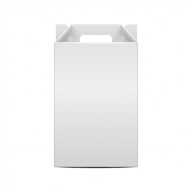 Modello di bottiglia di vite pieghevole pacchetto. illustrazione del contenitore di regalo per sito web, sfondo, banner. vista frontale Vettore Premium