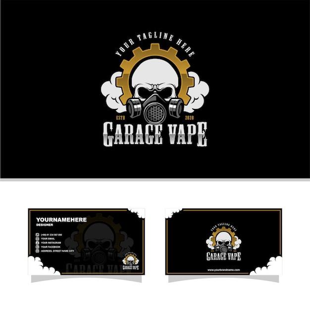 Garage vape Vettore Premium