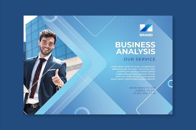 Banner di affari generali Vettore Premium