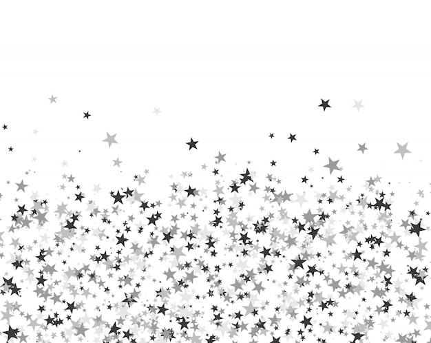 Motivo glitterato di stelle Vettore Premium