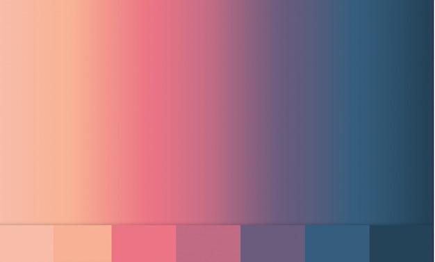 Gradienti. texture di sfondo illustrazione del gradiente. Vettore Premium